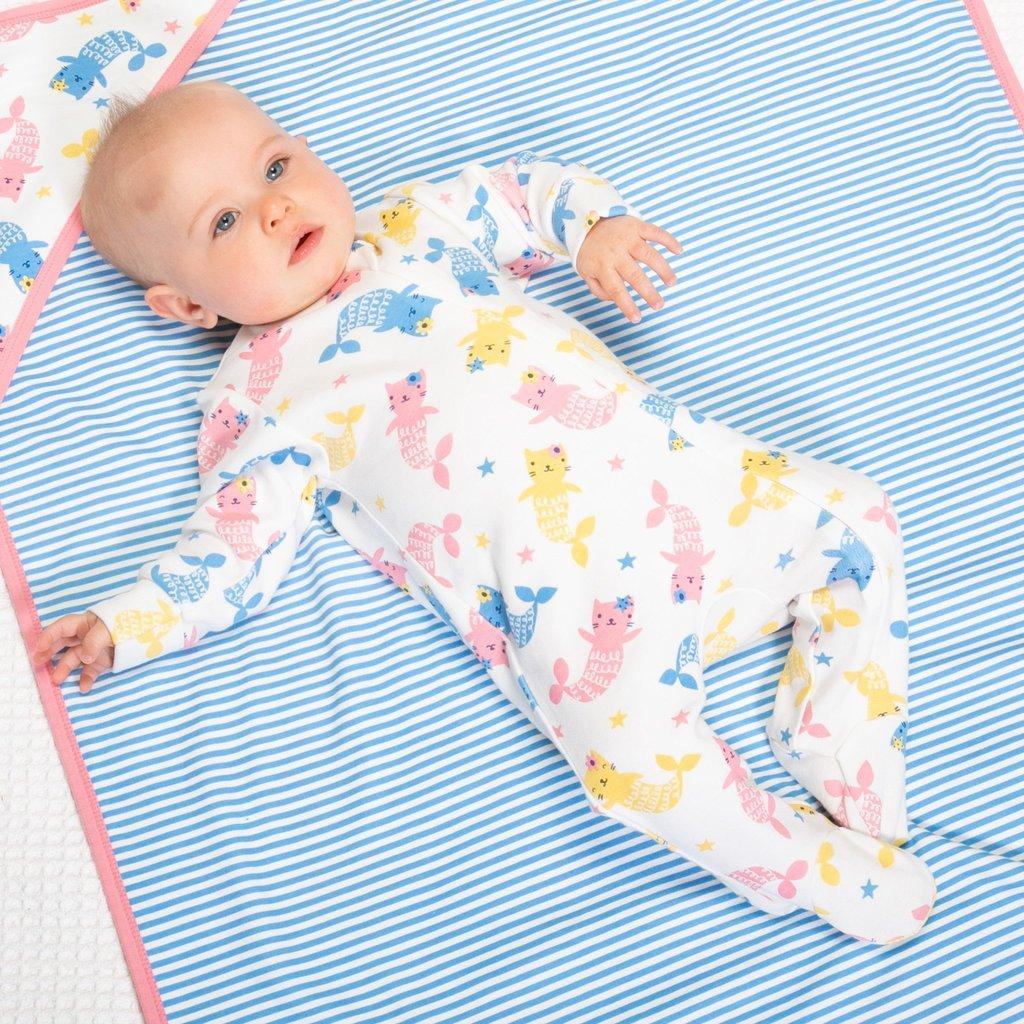 Pyjama et couverture asosrtie en coton bio à Gaillac | L'Ecocinelle