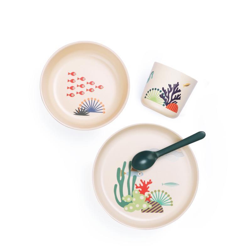 Set vaisselle en fibre de bambou à Gaillac | L'Ecocinelle